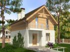 Живописный дом с мансардой